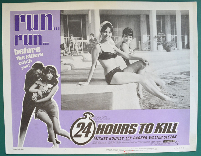 24 Hours To Kill <p><a> Single USA Lobby Card </i></p>