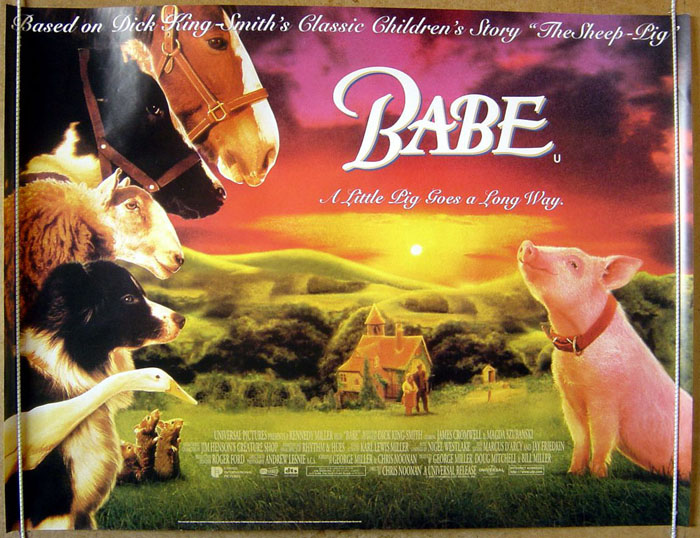 babe the movie 15 fun facts about babe by jennifer m wood among those individuals whose eating habits were altered by babe was the movie's human star though he had been a vegetarian decades before, cromwell decided that to be able to speak about this.