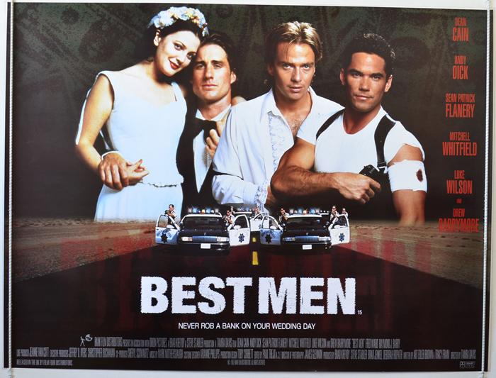 Movie Posters 1997: BEST MEN (1997) Original Quad Film / Movie Poster
