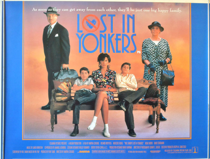 lost in yonkers Lost in yonkers (1993) cast and crew credits, including actors, actresses, directors, writers and more.