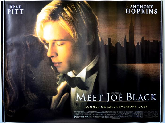 meet joe black original cinema movie poster from