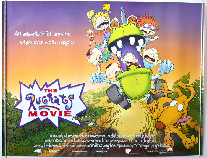 Rugrats Movie The Original Cinema Movie Poster From