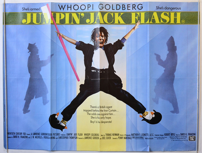 Jumpin' Jack Flash - Original Cinema Movie Poster From ...