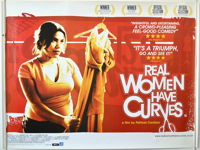 real women have curves Body shape weight control obesity introduction: underscoring latinas' curves  in the 2002 film real women have curves, ana (portrayed.