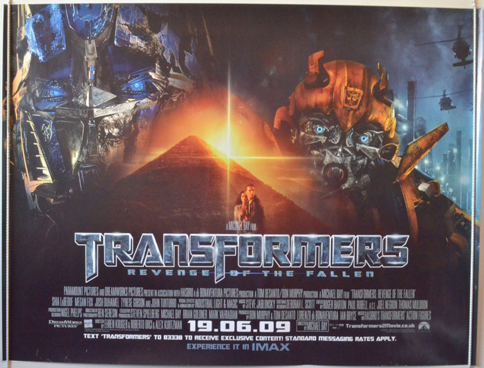 Transformers 2 : Revenge Of The Fallen - Original Cinema ...