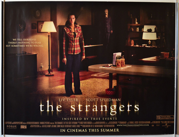 strangers the original cinema movie poster from