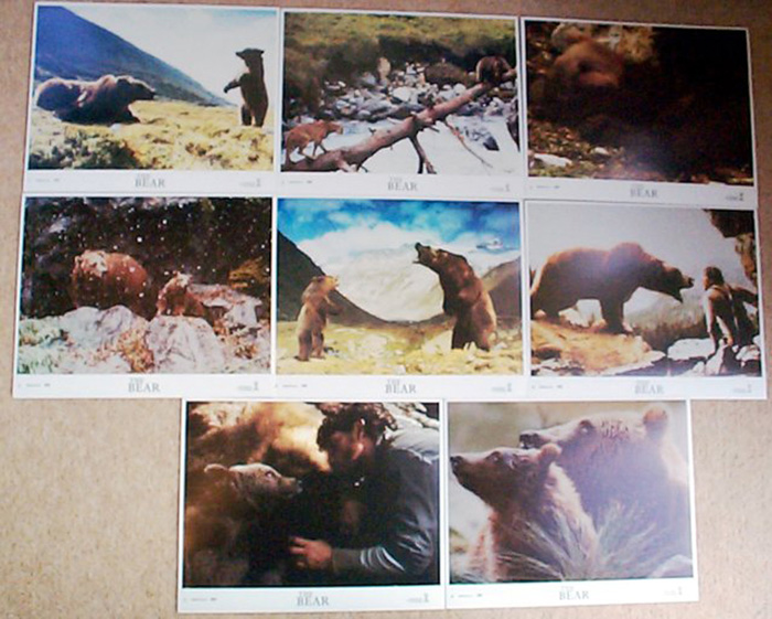 Bear (The)<br><p><i>Set Of 8 Lobby Cards</i></p>