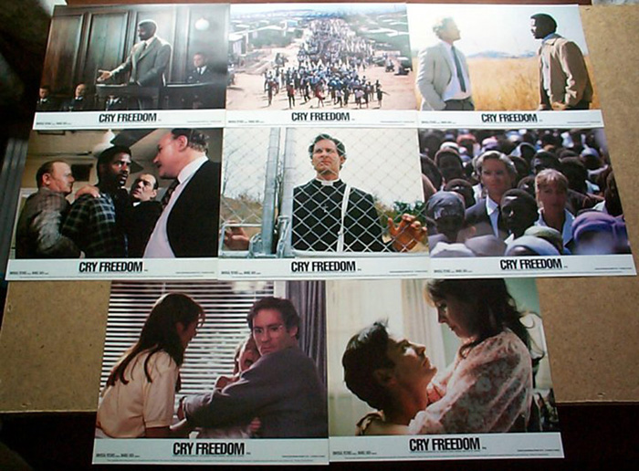 Cry Freedom<br><p><i>Set Of 8 Lobby Cards</i></p>