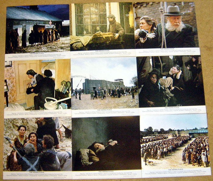 Hiding Place (The)<br><i><p>Set of 9 Lobby Cards</i></p>