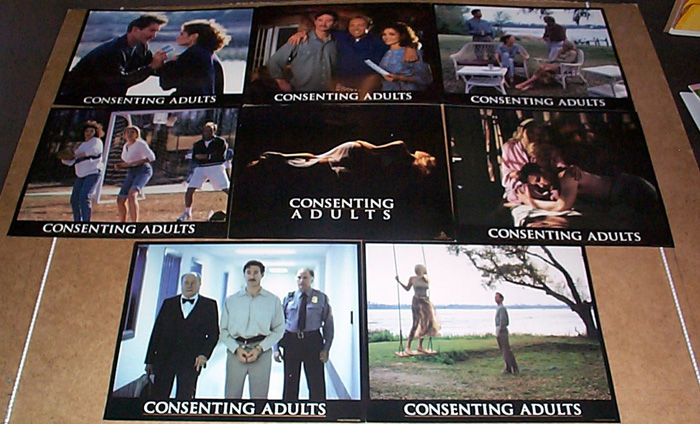 Consenting Adults<br><p><i>Set Of 8 Lobby Cards</i></p>