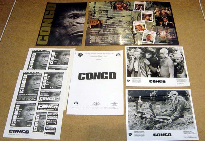 Congo<br><p><i>Original Press Kit With 2 Stills</i></p>