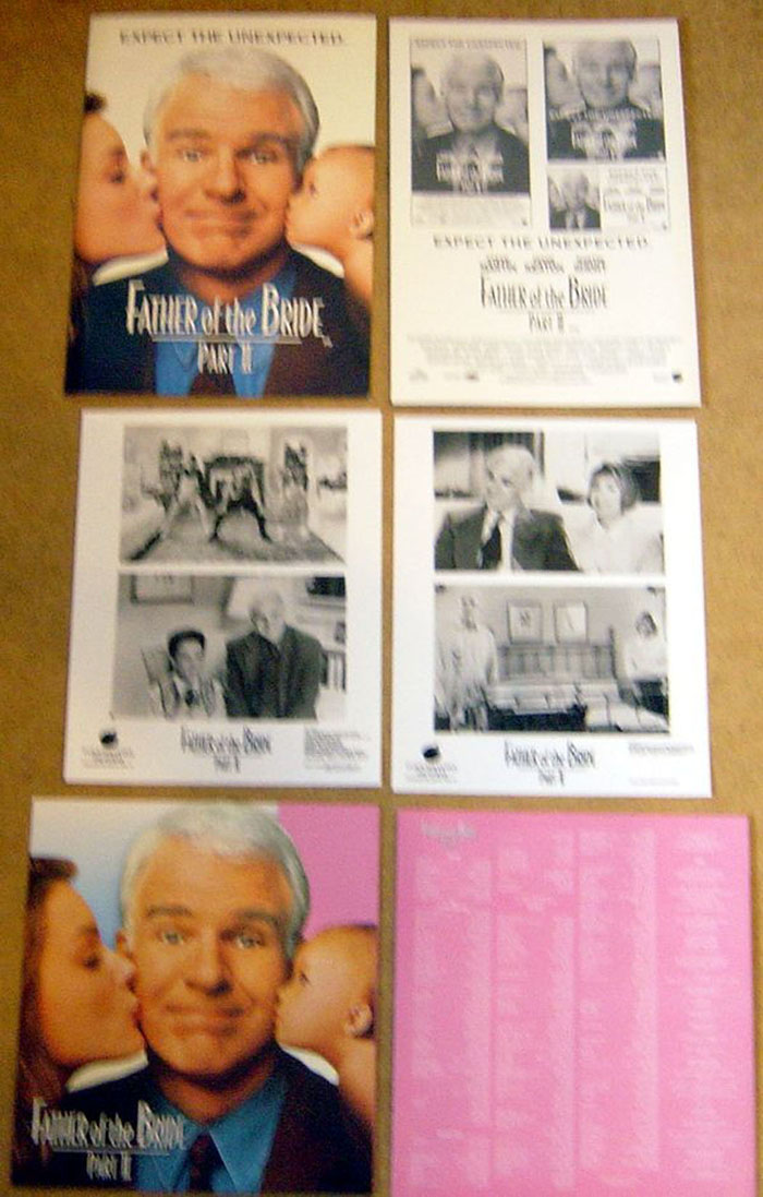 Father Of The Bride Part Ii Original Press Kit With 2