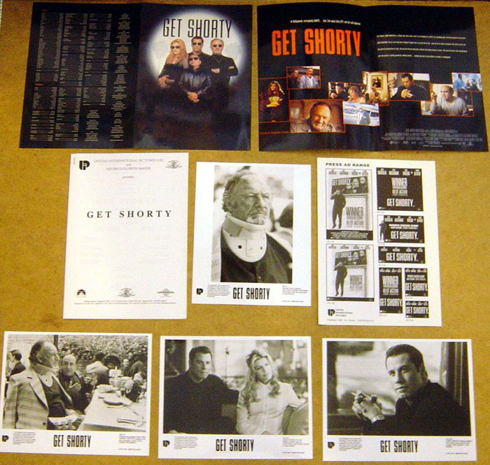 Get Shorty<br><p><i>Original Press Kit With 4 Stills</i></p>