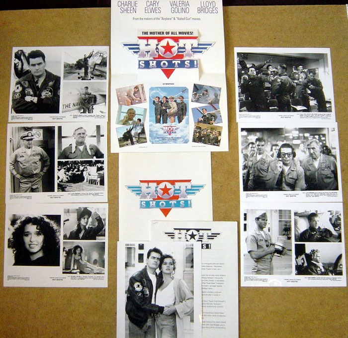 Hot Shots<br><p><i>Original Press Kit With 7 Stills</i></p>