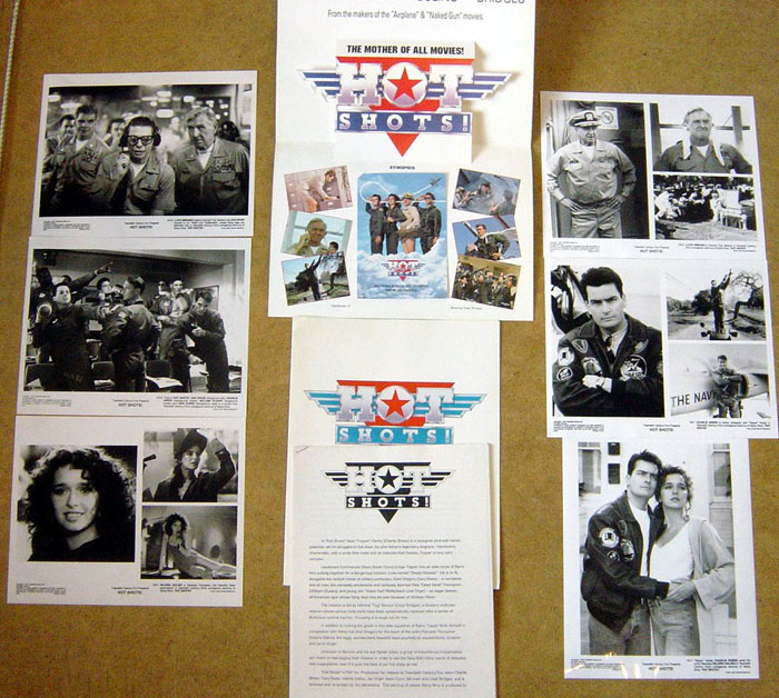 Hot Shots<br><p><i>Original Press Kit With 6 Stills</i></p>