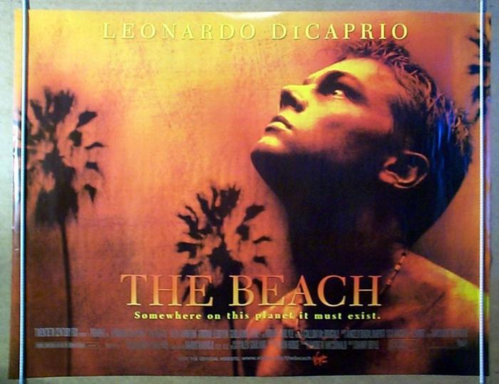 Beach (The) - Original Cinema Movie Poster From ...
