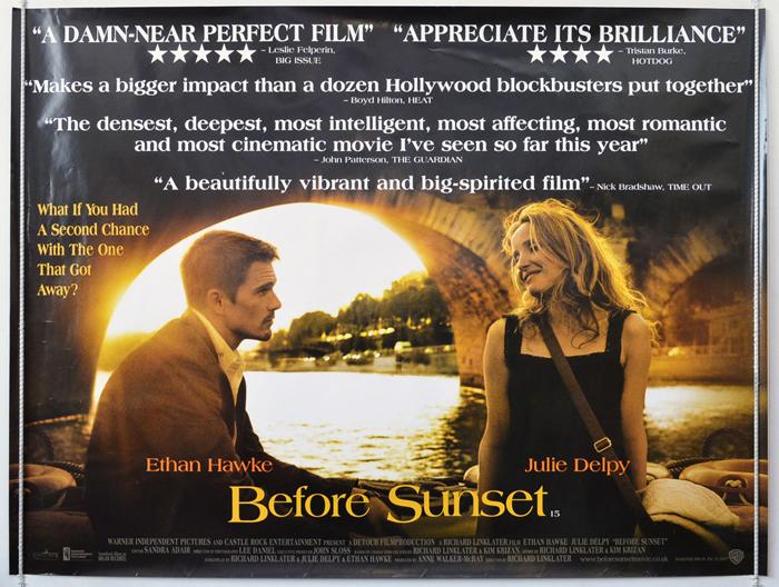Before Sunset - Original Cinema Movie Poster From ...