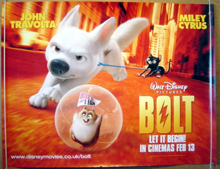 Bolt - Original Cinema Movie Poster From pastposters.com ...