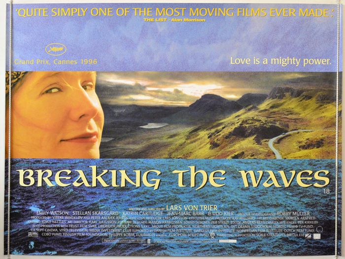 Breaking The Waves Poster Breaking The Waves