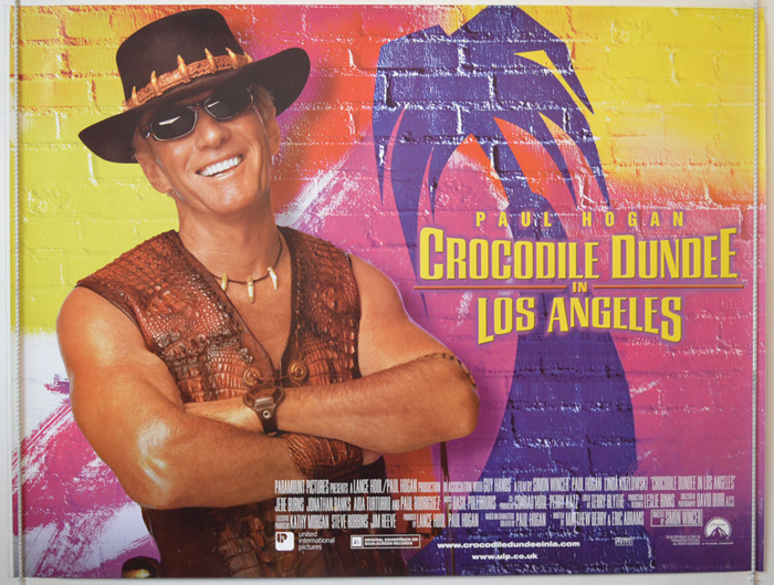 crocodile dundee movie poster analysis Crocodile dundee movie poster analysis essay stylised poster of crocodile dundee constructs the identity of australian men as being brave, gritty morally bound macho men who fill the roles of being the protectors of women and conquerors of the universe as man has always been.