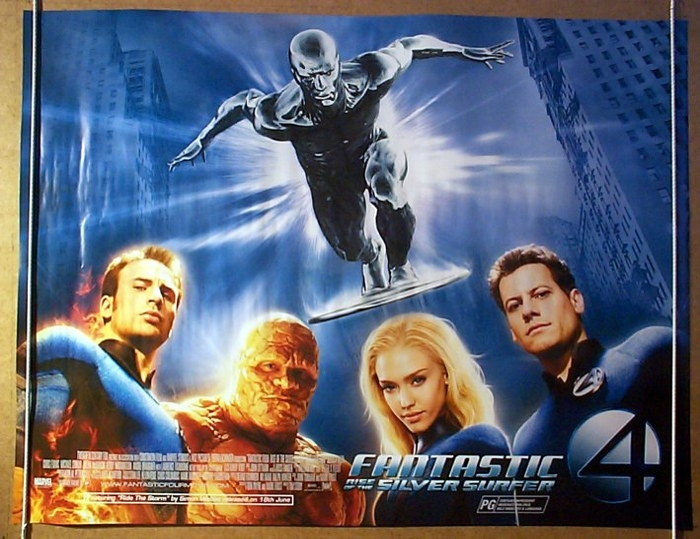 Fantastic four rise of the silver surfer silver surfer