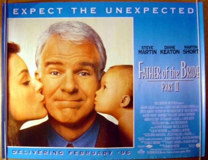 Father Of The Bride Part Ii Original Cinema Movie Poster