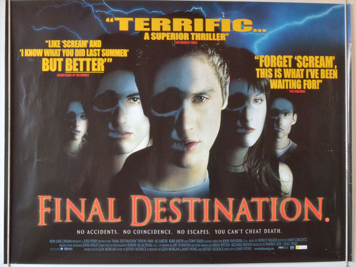 Final Destination - Original Cinema Movie Poster From ...