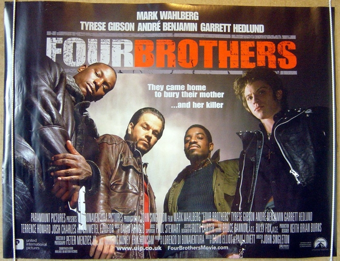 Four Brothers - Original Cinema Movie Poster From ...