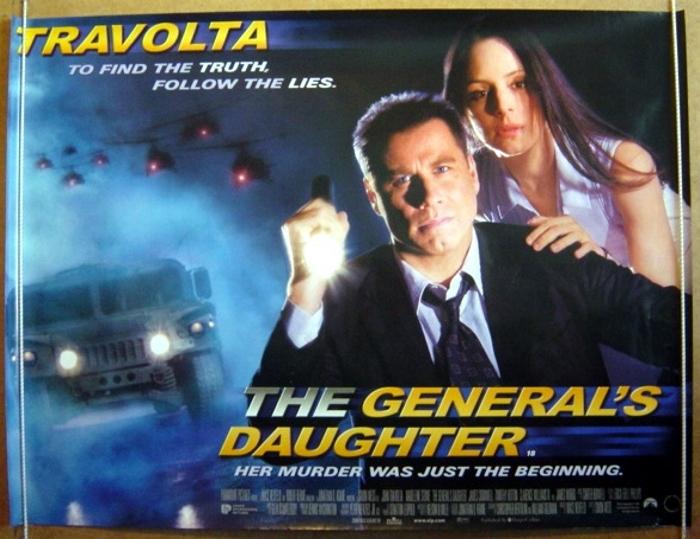 generals daughter the original cinema movie poster