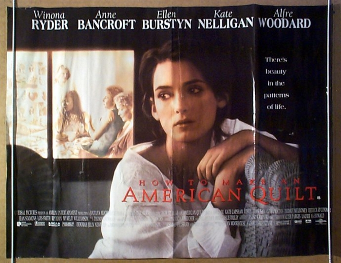 How To Make An American Quilt - Original Cinema Movie Poster From ... : quilt posters - Adamdwight.com