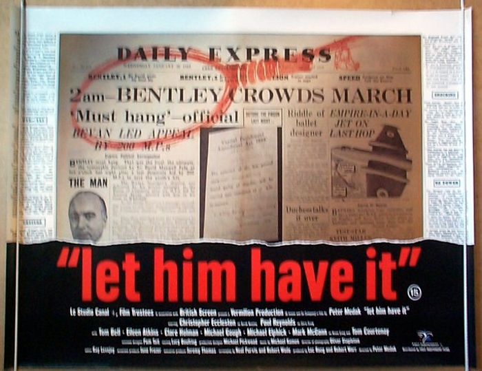 Let Him Have It - Original Cinema Movie Poster From pastposters.com British Quad Posters and US ...
