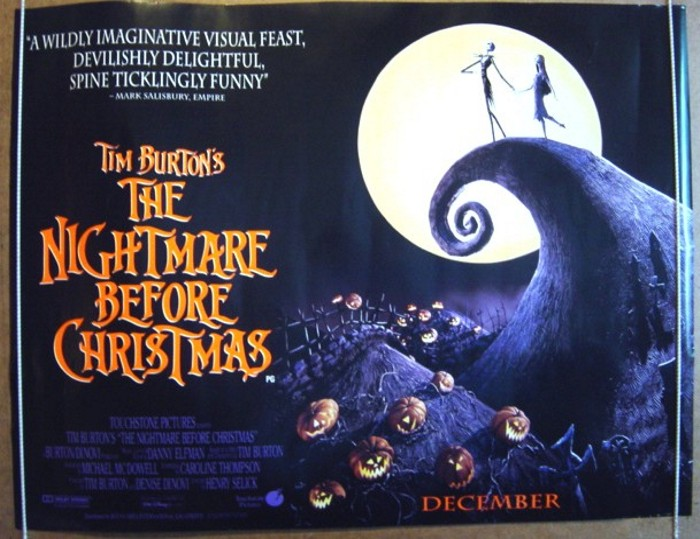 Nightmare Before Christmas (The) - Original Cinema Movie Poster ...