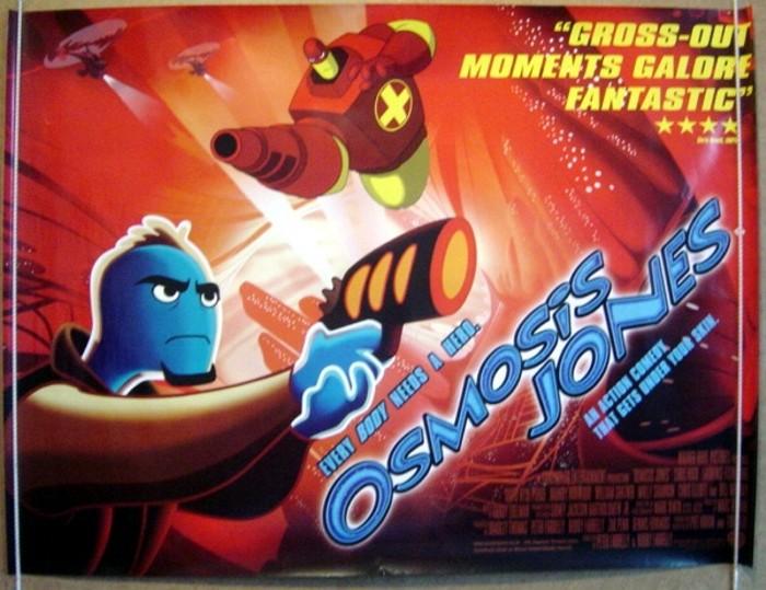Osmosis Jones Movie Poster osmosis jones - original cinema movie ...