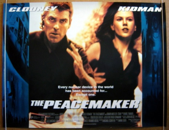Movie Posters 1997: THE PEACEMAKER (1997) Original Cinema Poster
