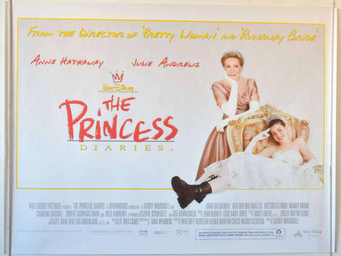 Princess Diaries (The) - Original Cinema Movie Poster From ...