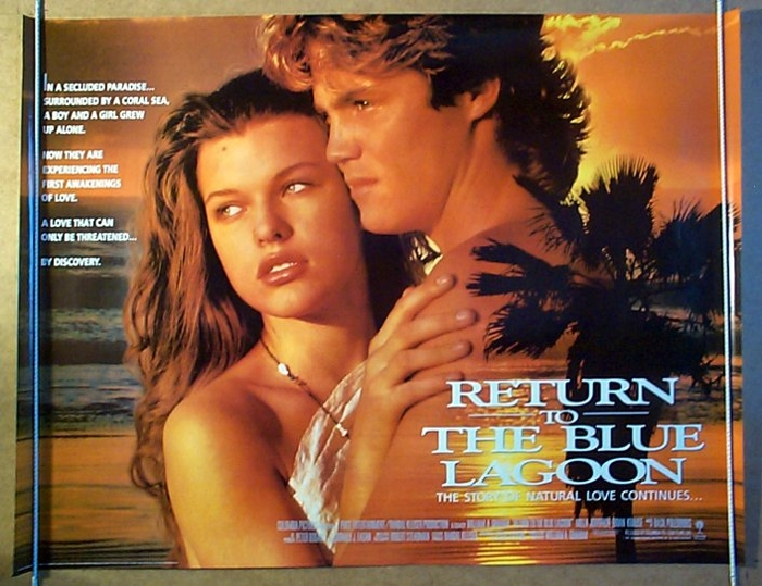 Return to the Blue Lagoon Movie Posters From Movie Poster Shop