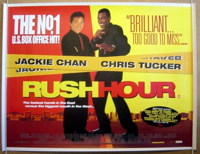 Rush Hour - Original Cinema Movie Poster From pastposters ... Chris Tucker Rush Hour 3