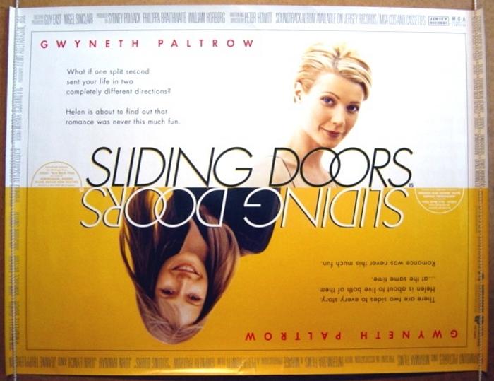 Sliding Doors Original Cinema Movie Poster From