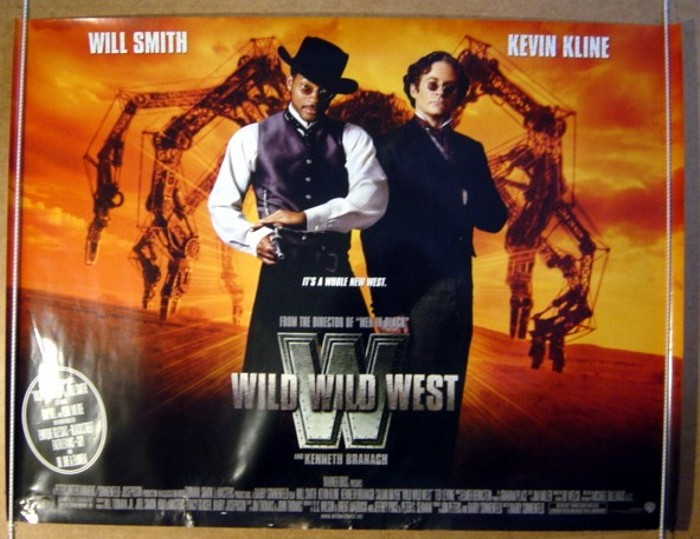 wild wild west original cinema movie poster from
