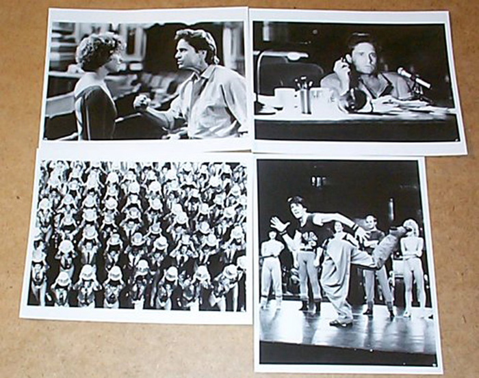 A Chorus Line<br><p><i>4 Black and White Stills</i></p>
