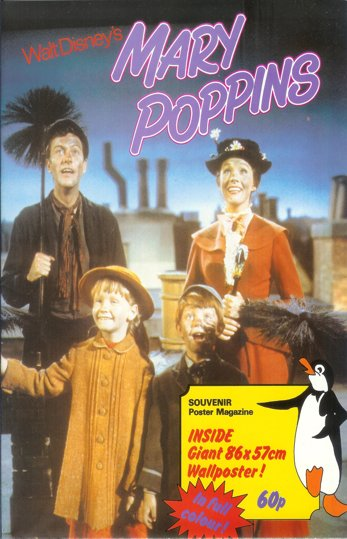 Mary Poppins<br><p><i>Original Souvenir Poster Magazine</i></p>
