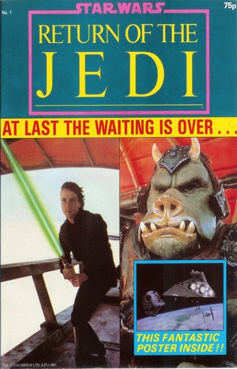 Star Wars : Return Of The Jedi <p><i> Original Poster Magazine </i></p>
