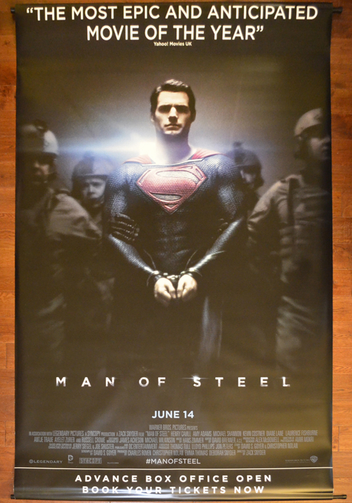 Man Of Steel <p><i> (Cinema Banner) </i></p>