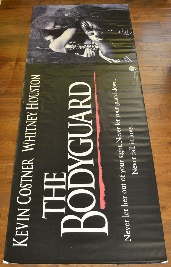 Bodyguard The Cinema Banner Original Cinema Movie
