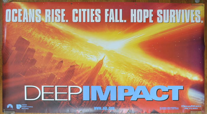 Deep Impact <p><i> (Cinema Banner) </i></p>