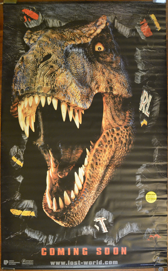 Jurassic Park II : The Lost World <p><i> (Cinema Banner) </i></p>