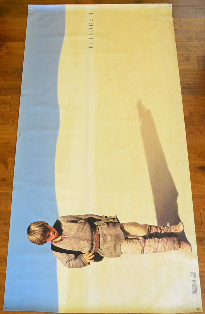 Star Wars Episode 1 : The Phantom Menace <p><i> (Cinema Banner) </i></p>