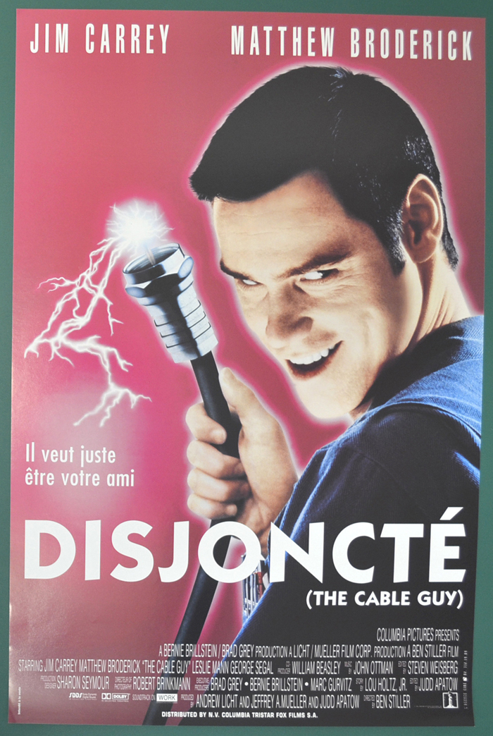 Cable Guy (The) <p><i> (Original Belgian Movie Poster) </i></p>