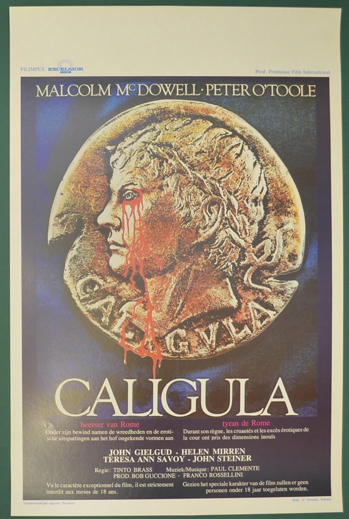 Caligula <p><i> (Original Belgian Movie Poster) </i></p ...