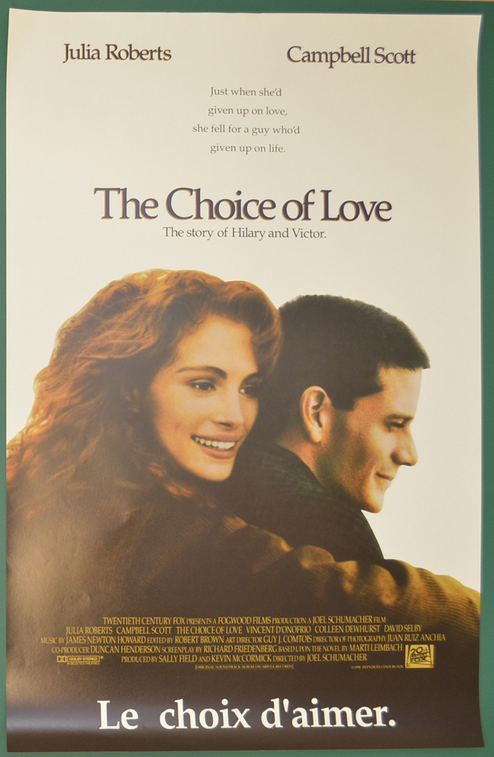Choice Of Love (The) <p><i> (Original Belgian Movie Poster) </i></p>
